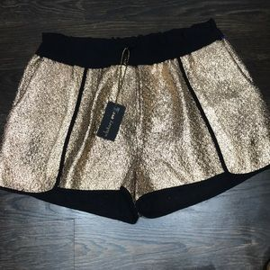 Pants - Whitney Eve Rose Gold shorts